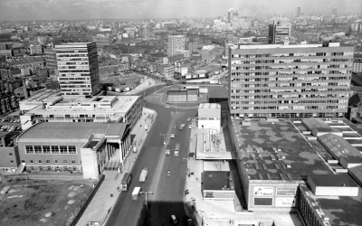 Northern roundabout 1960s?