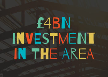 £4bn investment in the area