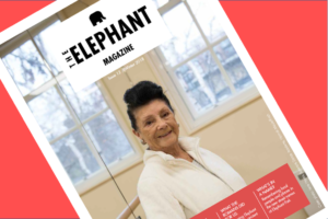 The Elephant Magazine out now