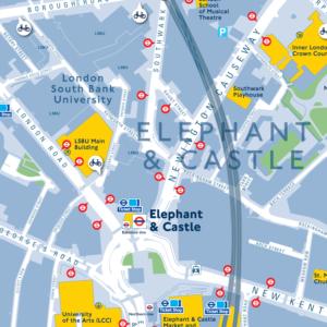 Legible London map