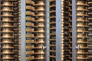 Replica of Charles Babbage's difference engine