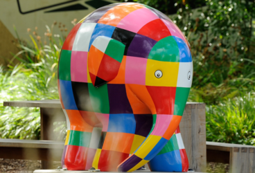 Elmer comes to Elephant Park