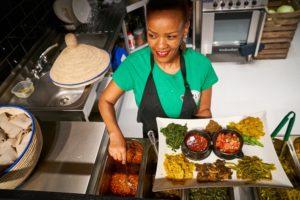 Beza Ethiopian vegan restaurant